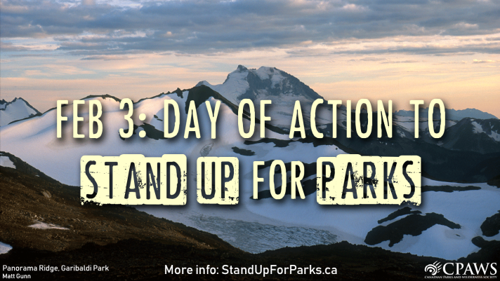 Day of Action to Stand Up for Parks