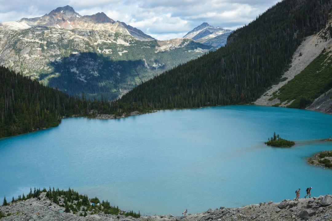 Upper Joffre Lake. Photo: Stephen Hui