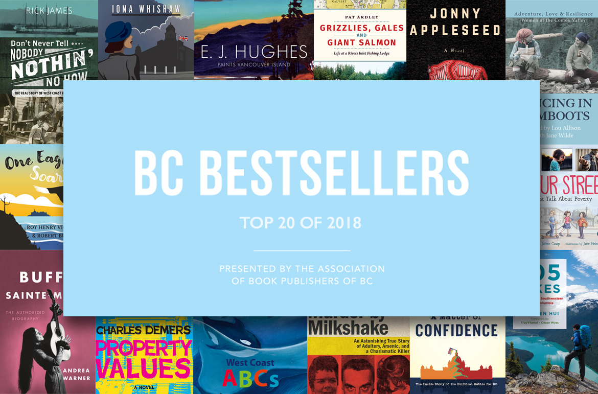 B.C. Bestsellers: Top 20 of 2018