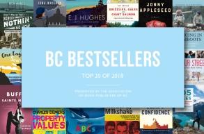B.C. Bestsellers: Top 20 of 2018