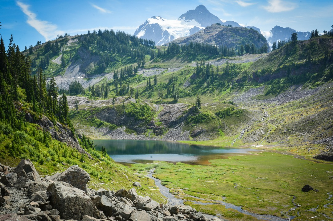 Chain Lakes Trail. Photo: Stephen Hui