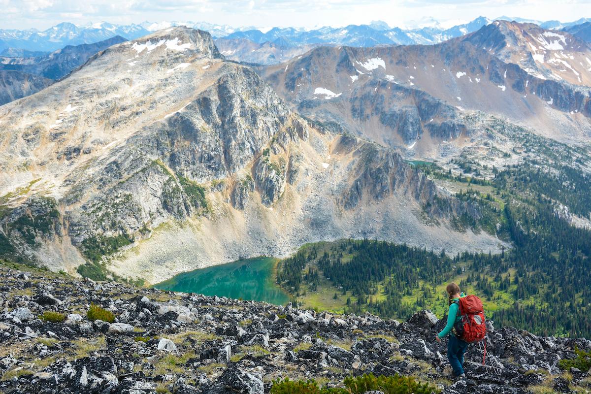 Gott Peak. Photo: Stephen Hui