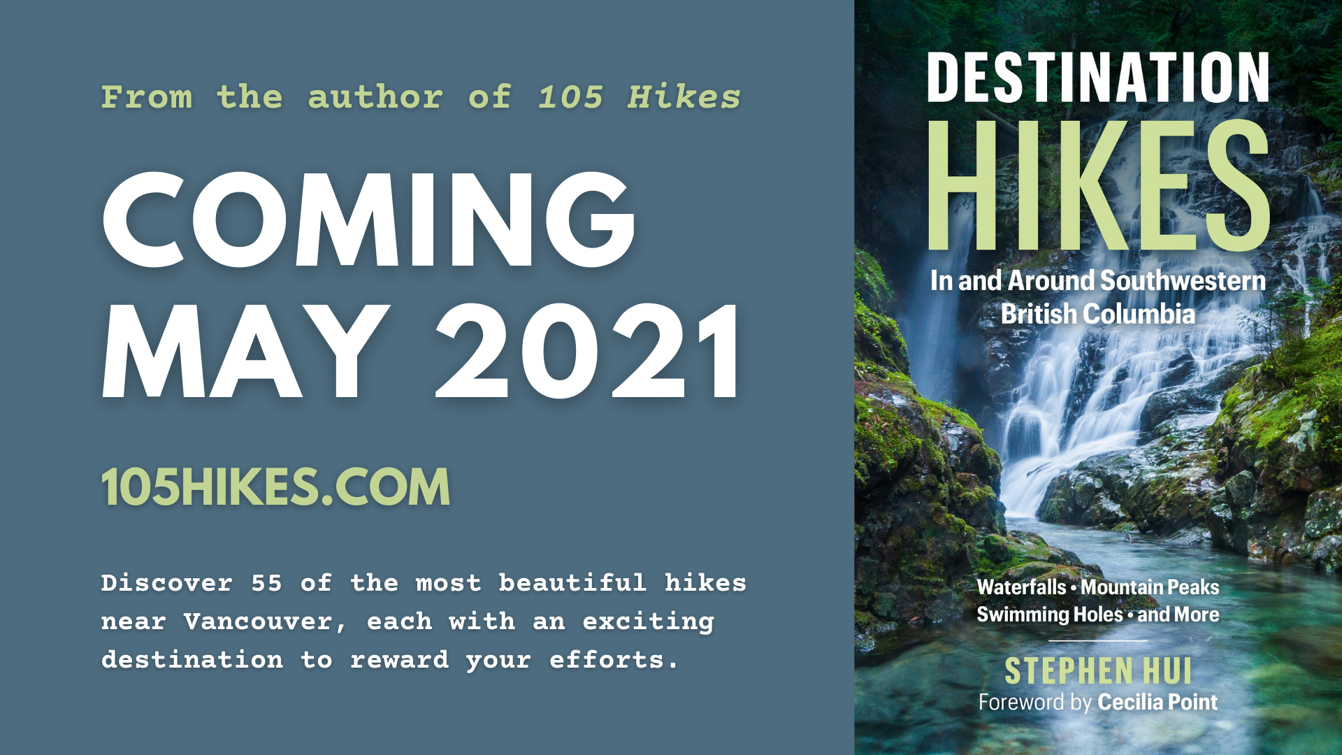 Destination Hikes is coming May 2021