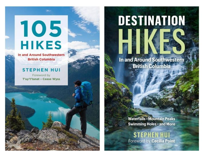 Hiking trail guides for Vancouver and the Pacific Northwest