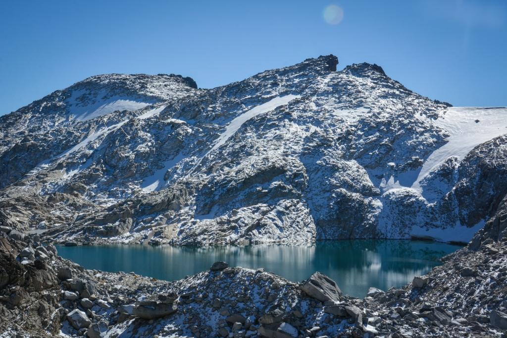 Isolation Lake. Photo: Stephen Hui