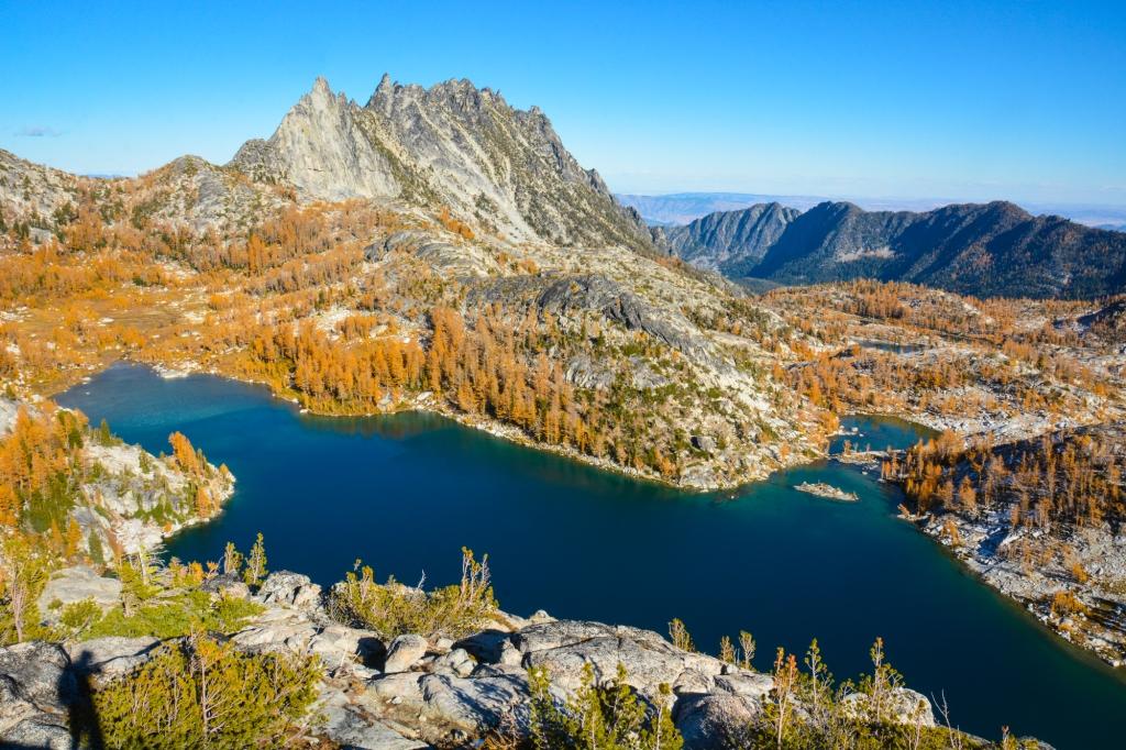 Perfection Lake. Photo: Stephen Hui