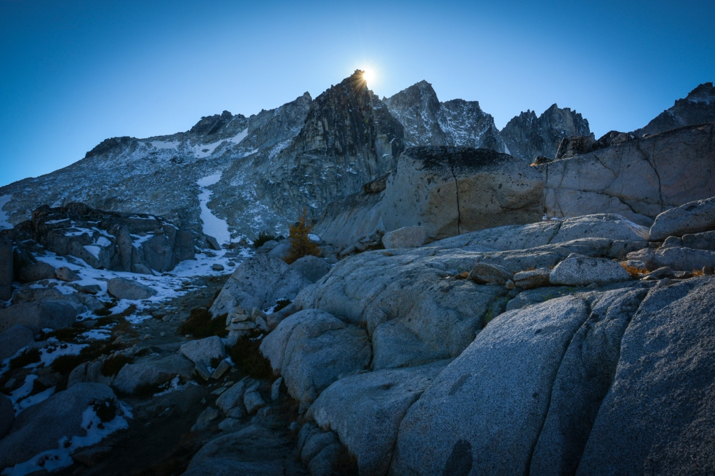 Dragontail Peak. Photo: Stephen Hui