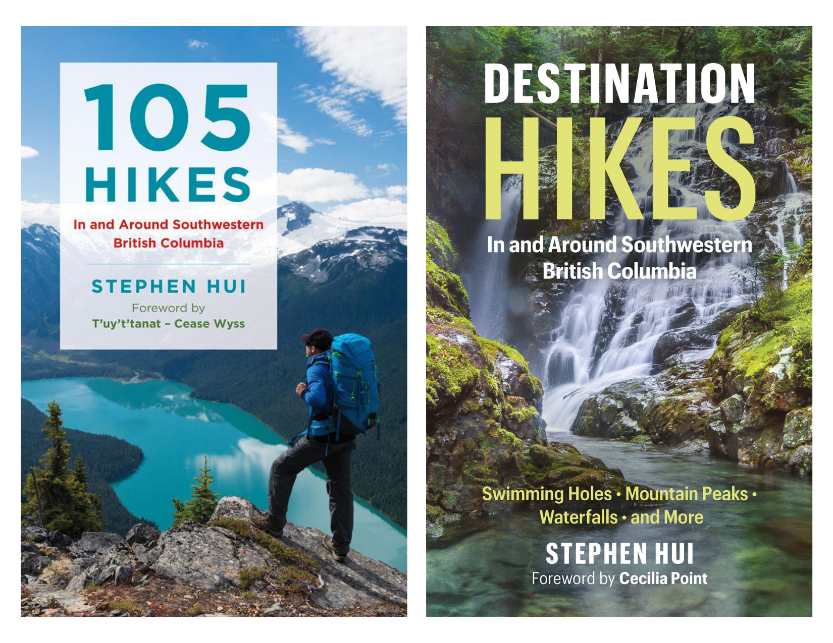 Hiking trail guides for Vancouver, B.C.