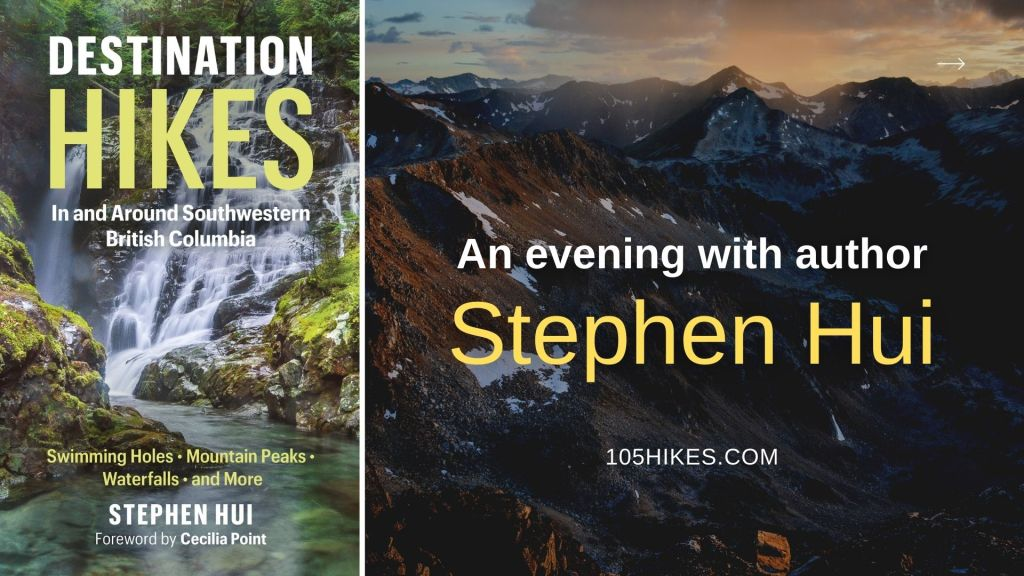 Destination Hikes: An evening with the author