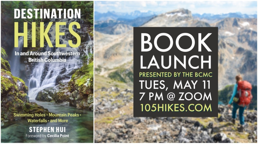 Destination Hikes book launch